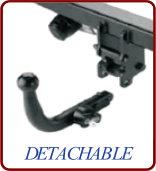 detachable towbar fitting