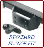 standard-flange towbar fitting