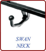 swan-neck towbar fitting